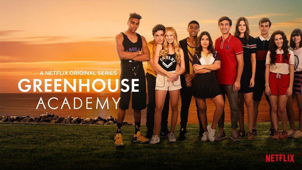 Greenhouse Academy Wallpaper Ravens