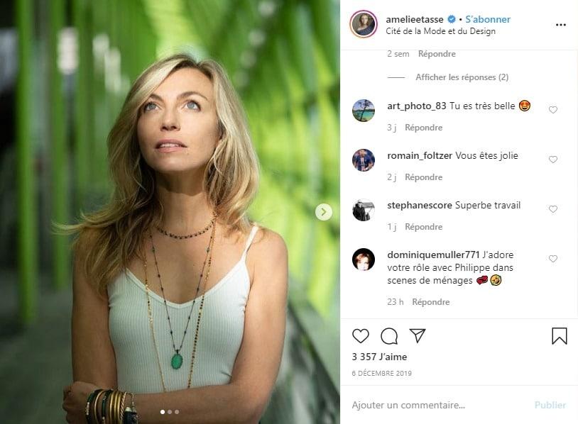 Amélie Etasse sur Instagram