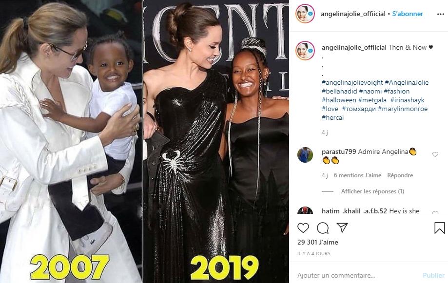 Angelina Jolie : gros cri du cœur par rapport aux violences subies par les enfants !