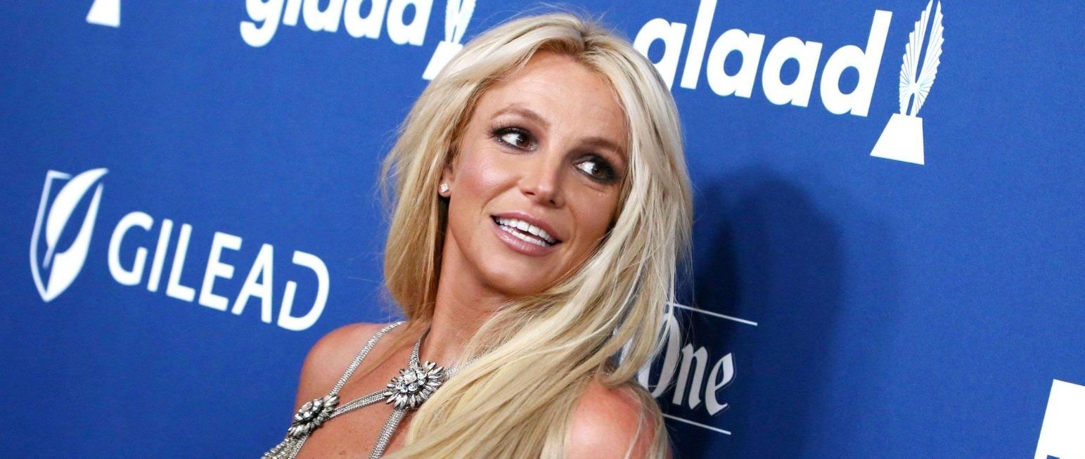 Britney Spears en décolleté