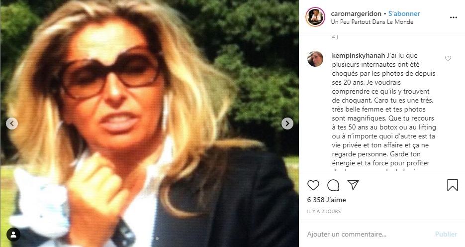 Caroline Margeridon à 30 ans