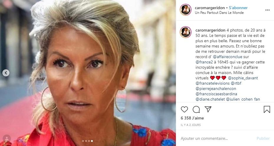 Caroline Margeridon aujourd'hui