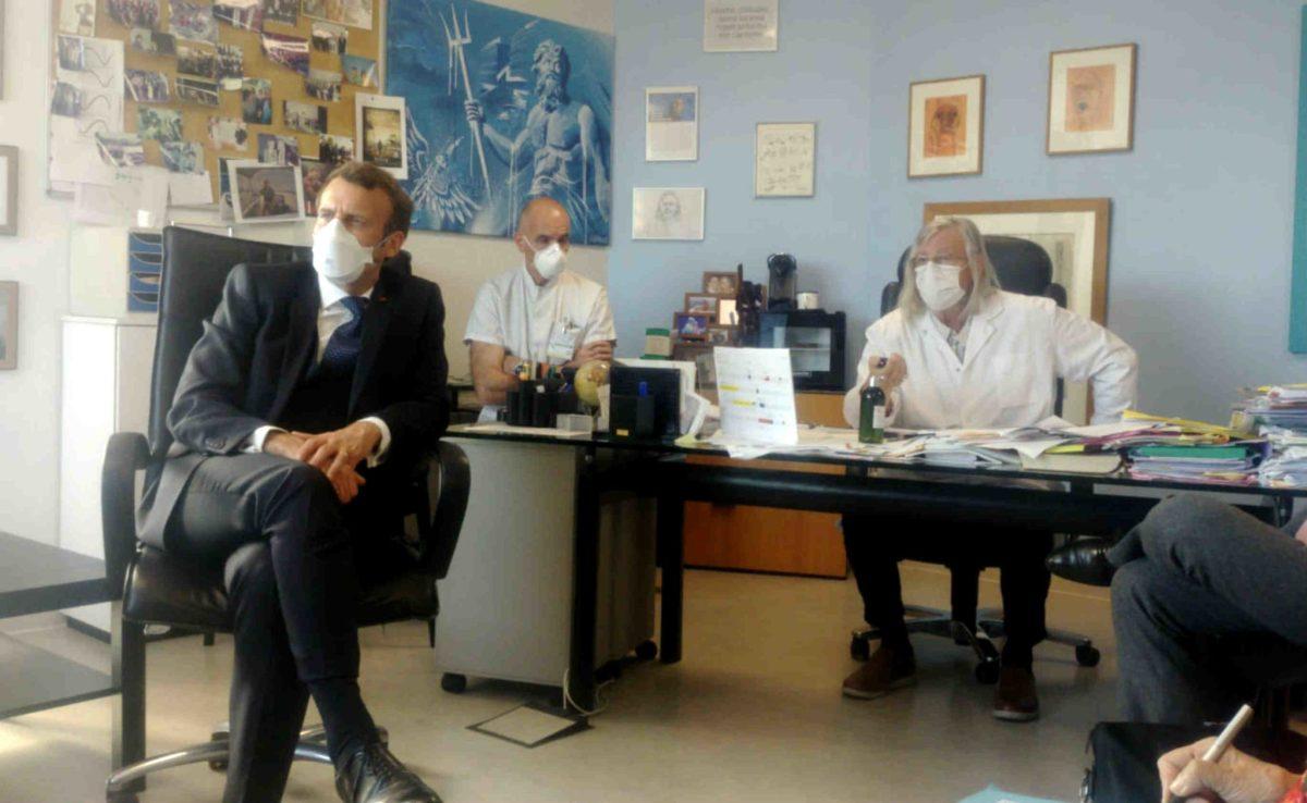 Didier Raoult et Emmanuel Macron
