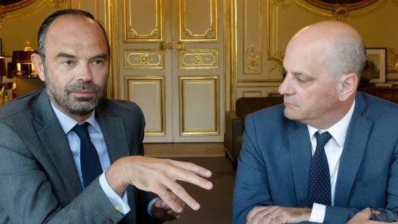 Édouard Philippe et Jean-Michel Blanquer