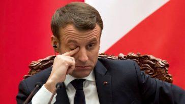 Emmanuel Macron épuisé
