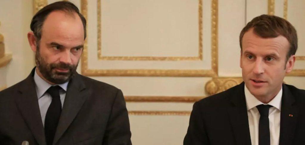 Emmanuel Macron et Édouard Philippe