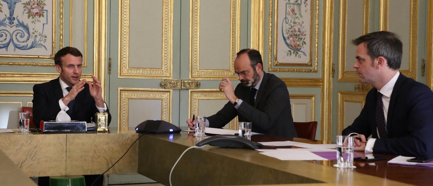 Emmanuel Macron et ses ministres
