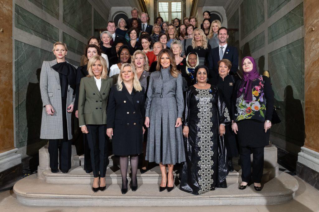 Melania Trump et les Premières dames