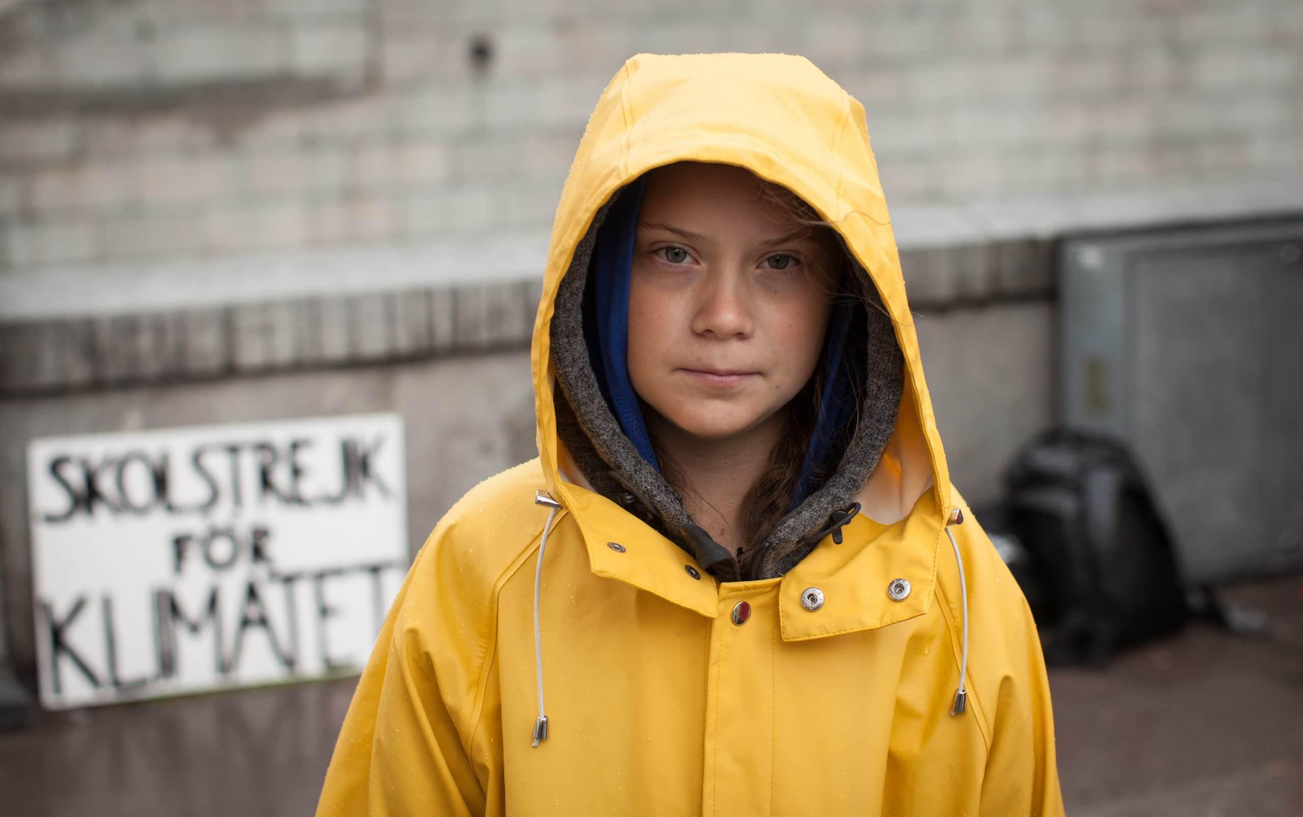 Greta Thunberg - source wikipedia