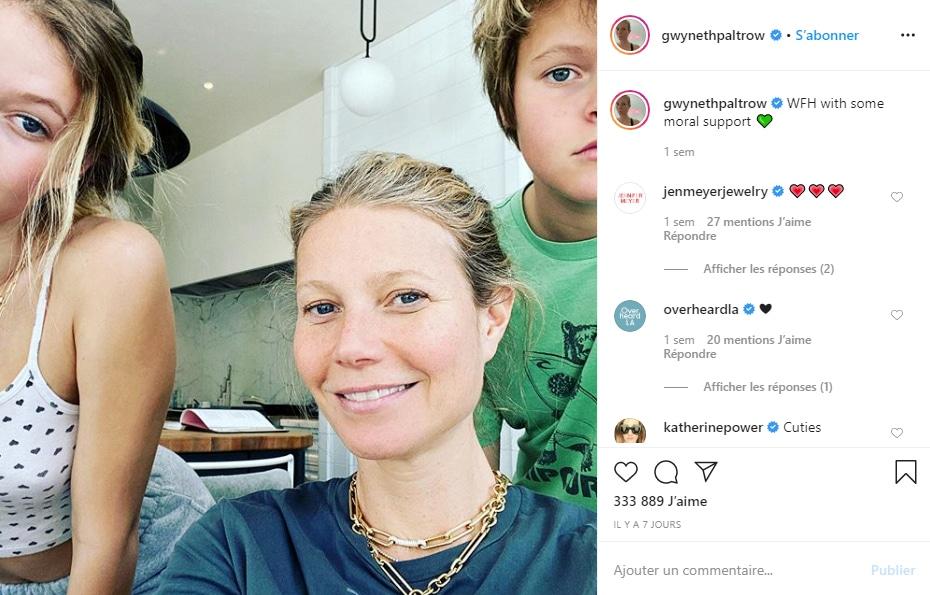 Gwyneth Paltrow et ses enfants,