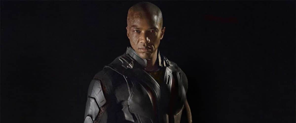 J. August Richards en tant que Deathlok pour Marvel