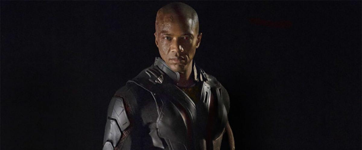J. August Richards en tant que Deathlok pour Marvel