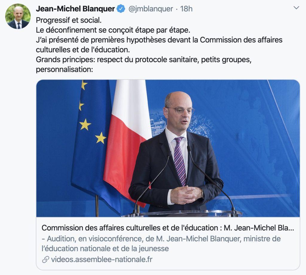 Jean Michel Blanquer