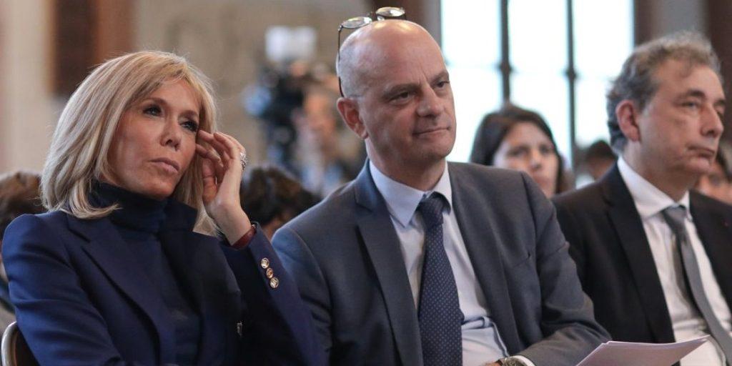 Jean-Michel Blanquer et Brigitte Macron
