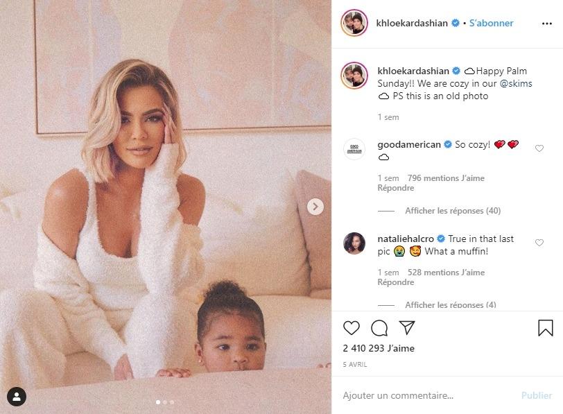 Khloe Kardashian et sa fille