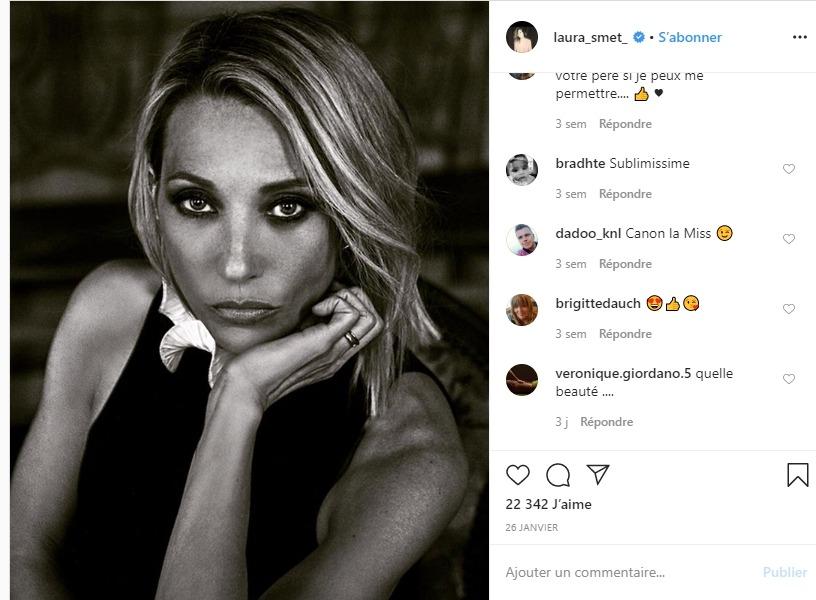 Laura Smet sur Instagram