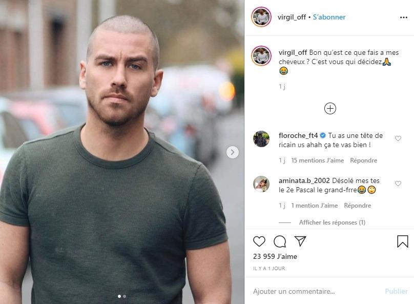 Les nouveaux cheveux de Virgil