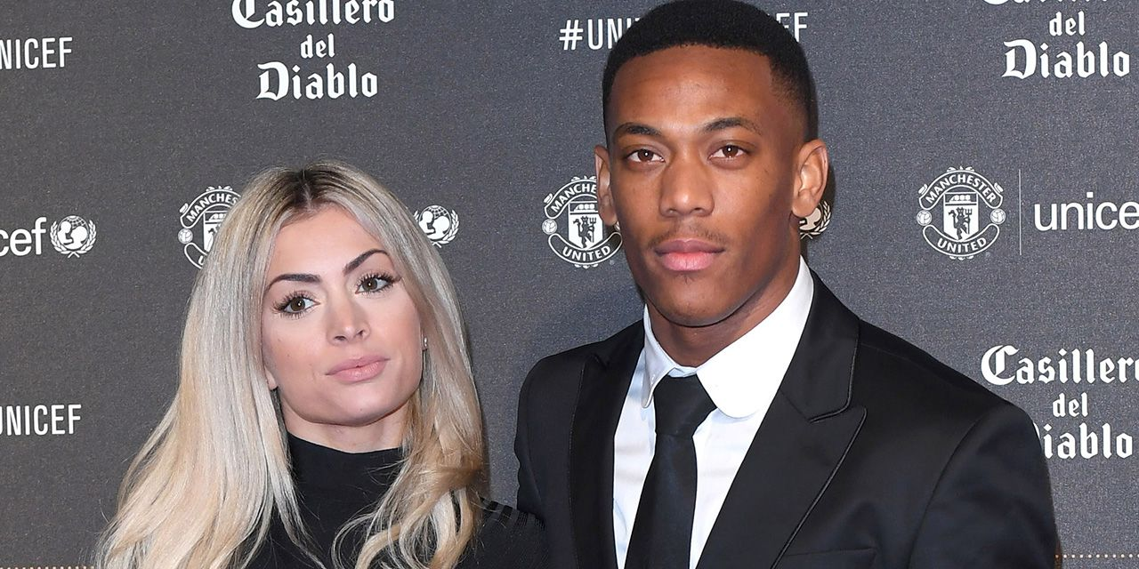 Mélanie Da Cruz et Anthony Martial
