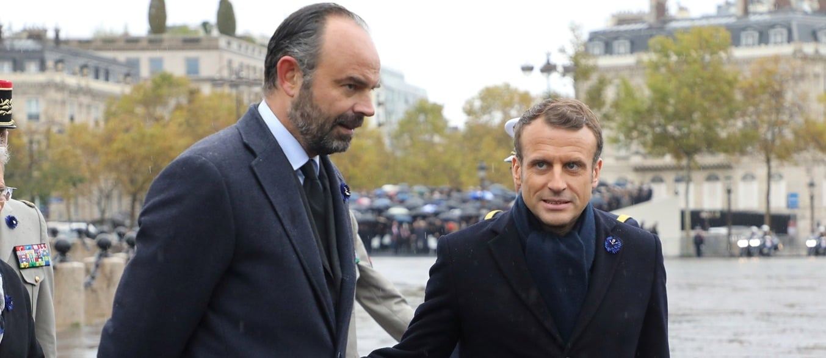 Macron et Philippe