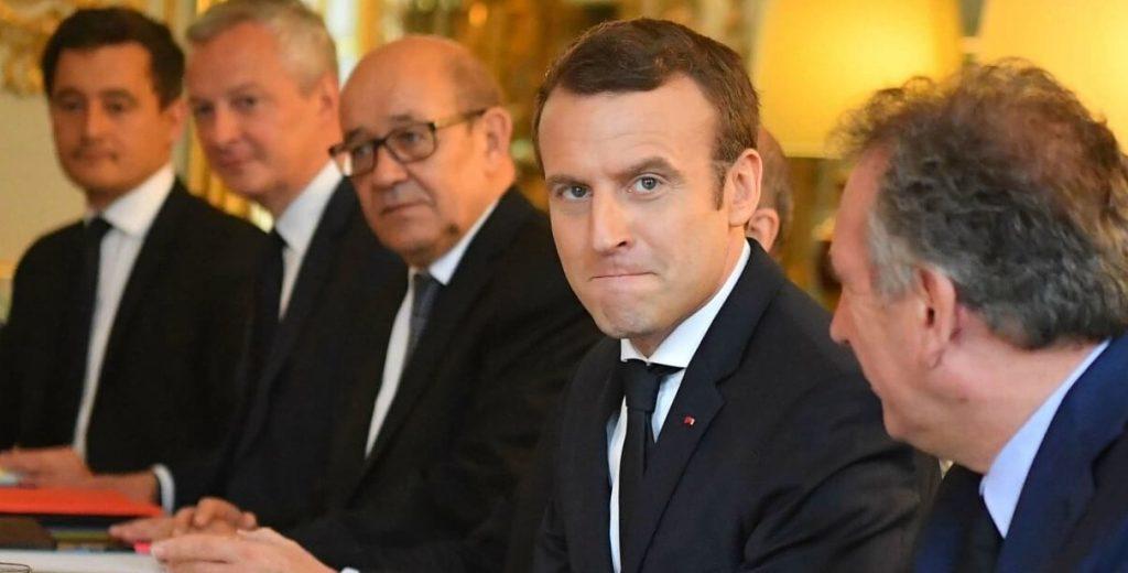 Macron et le gouvernement