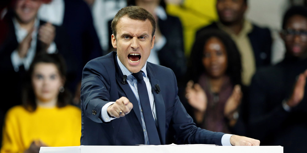 Macron furieux