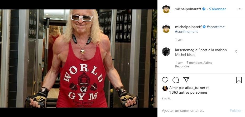 Michel Polnareff sur Instagram
