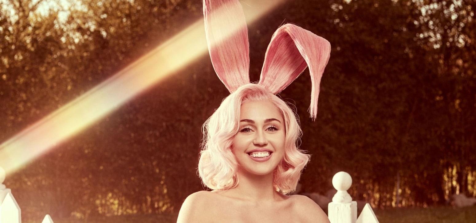 Miley Cyrus en lapin