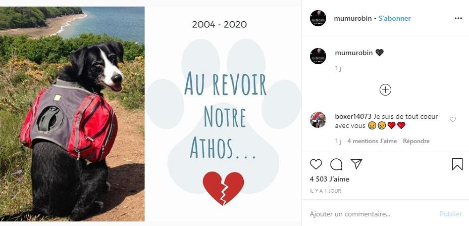 Muriel Robin sur Instagram