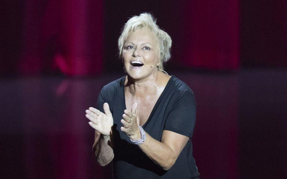Muriel Robin sur scène