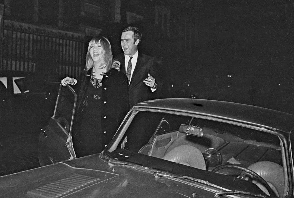 Mylène Demongeot et Marc Simenon