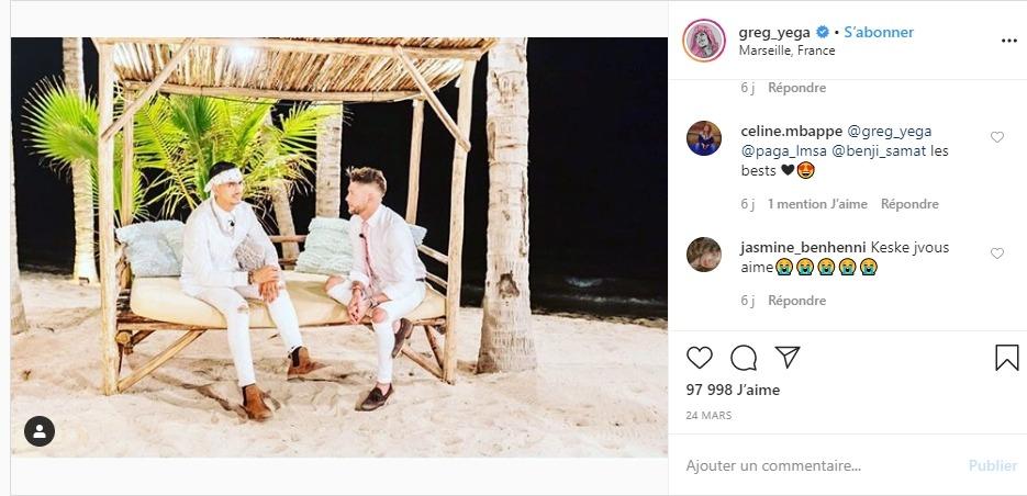 Paga et Greg sur Instagram