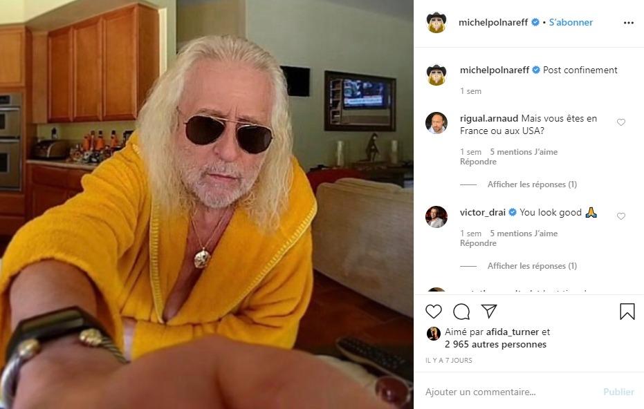 Polnareff sur Instagram