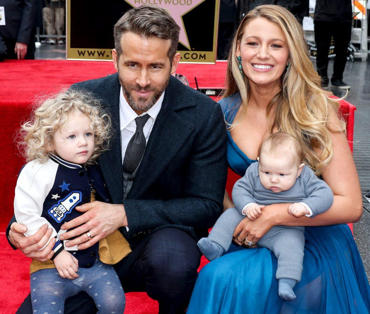 Ryan Reynolds et sa famille