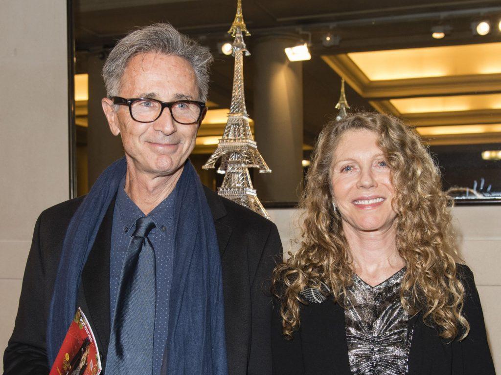 Thierry Lhermite et sa femme