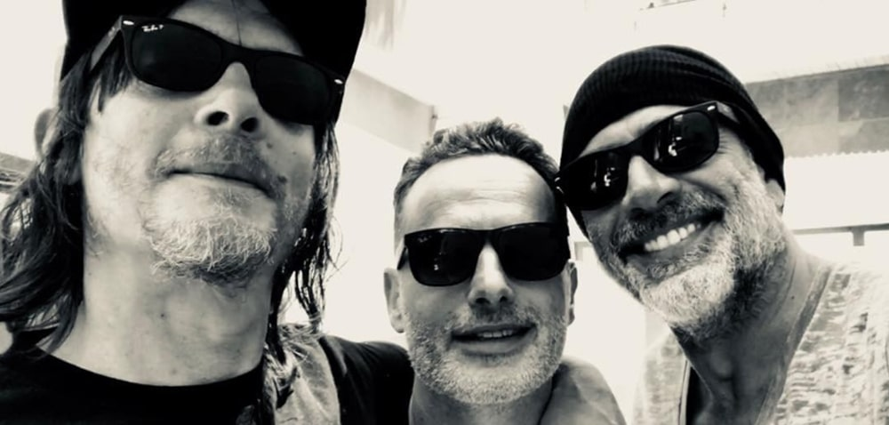 The walking dead : Negan, Daryl et Rick