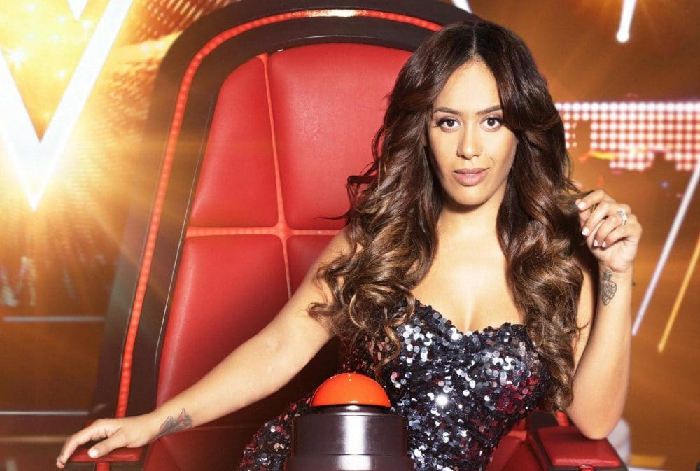 Amel Bent fait partie du jury de The Voice
