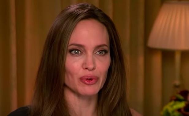 Angelina Jolie en interview