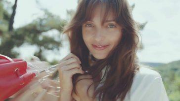 Annabelle Belmondo pour Lancaster