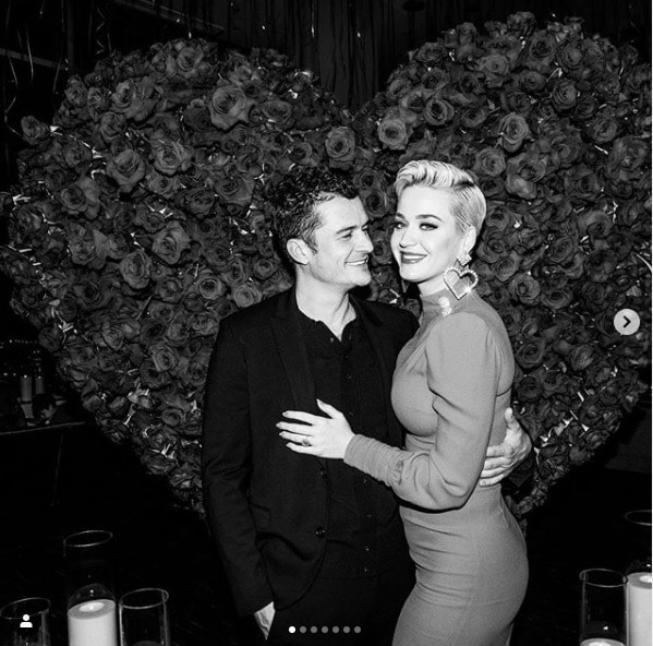 Katy Perry et Orlando Bloom