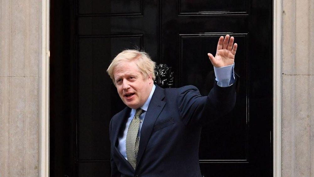 Boris Johsnon est confiant face au coronavirus