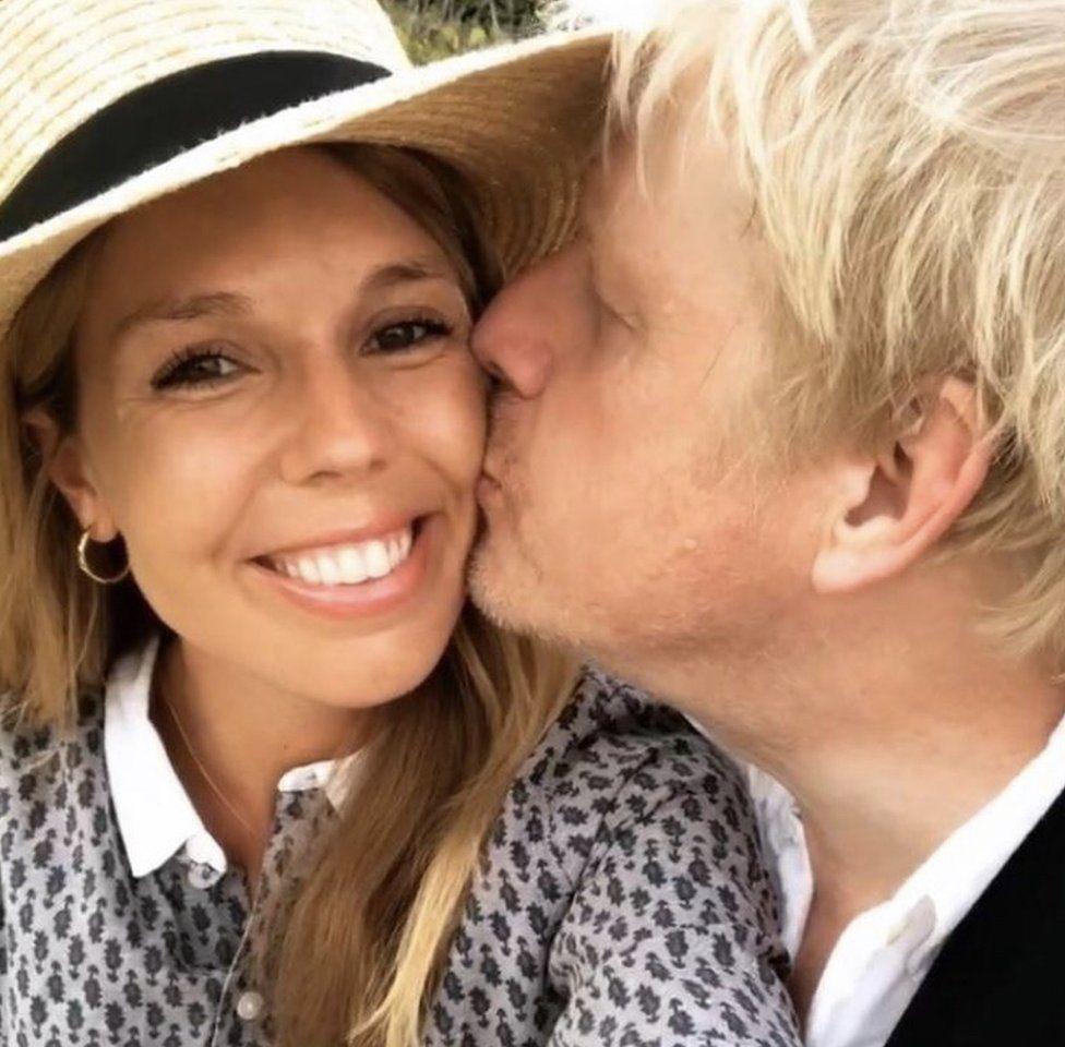 Carrie Symonds et Boris Johnson sont parents