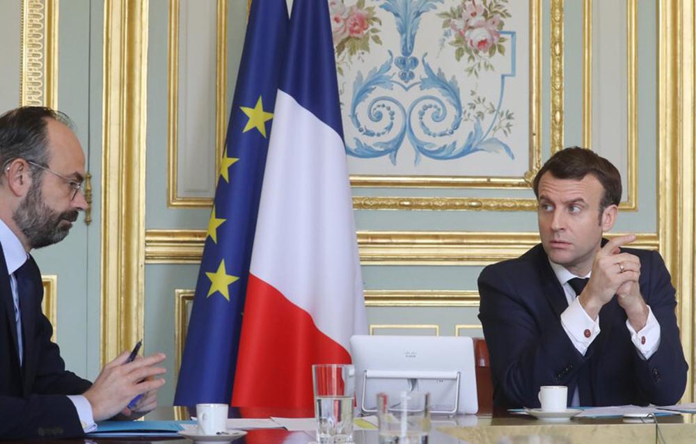 Edouard Philippe et Emmanuel Macron préparent le déconfinement de la France