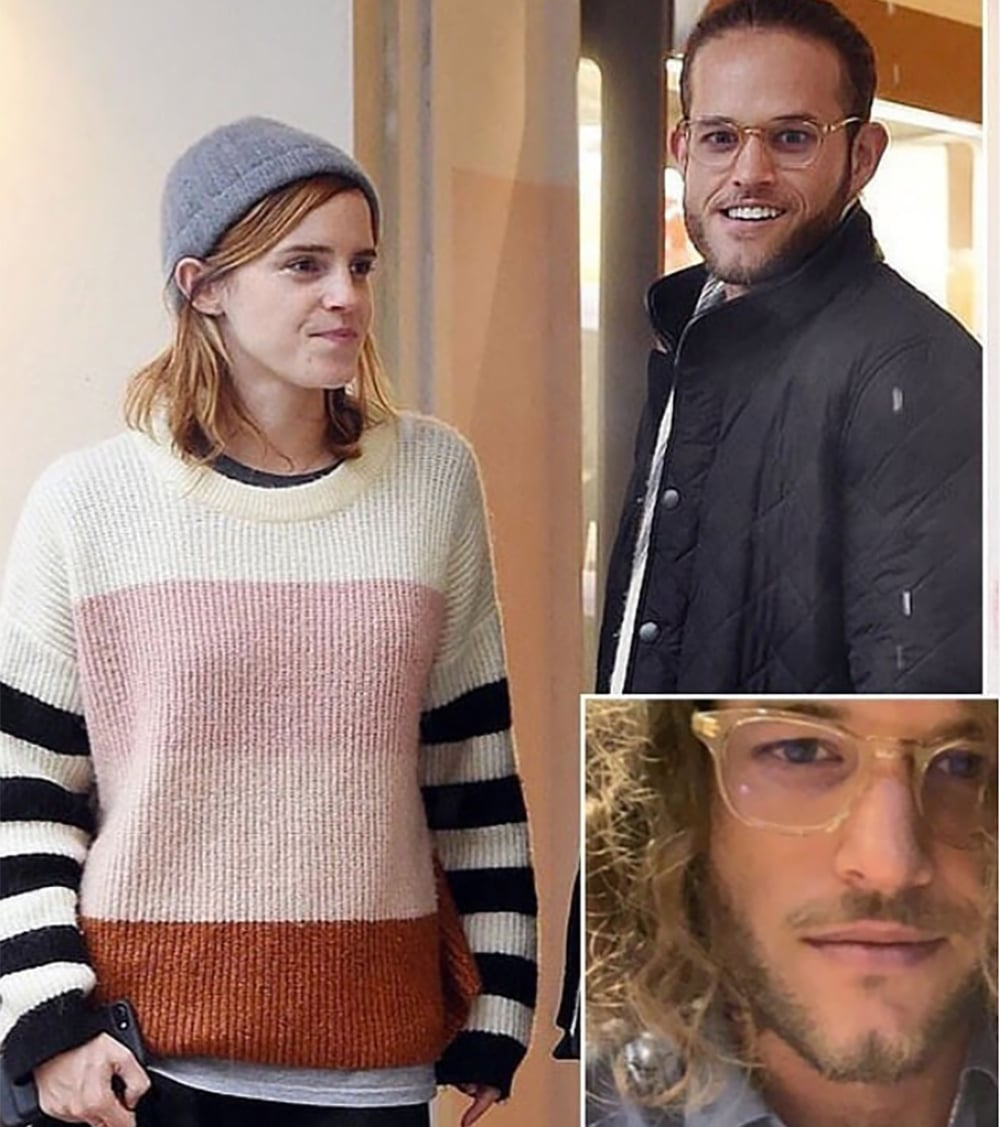 Emma est en couple avec l'homme d'affaires californien Leo Alexander Robinton