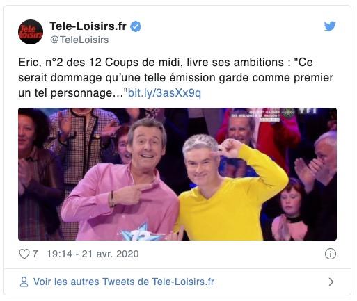 Télé Loisirs Twitter