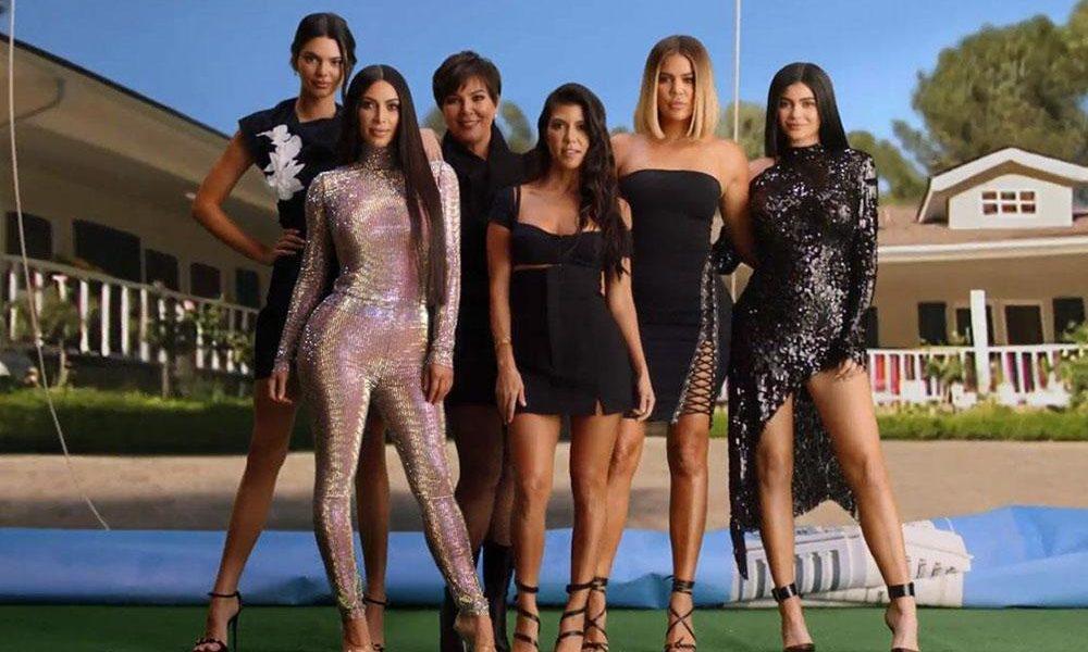 La famille Kardashian Jenner