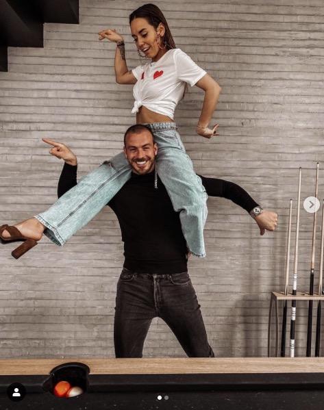 Hilona Gos avec son chéri Julien