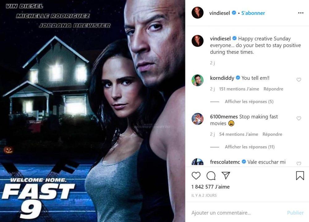 Vin Diesel dénonce une guerre entre Universal Studio et la P.G.A !
