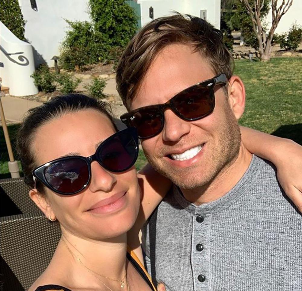 Lea Michele confinée avec Zandy Reich attend son premier enfant