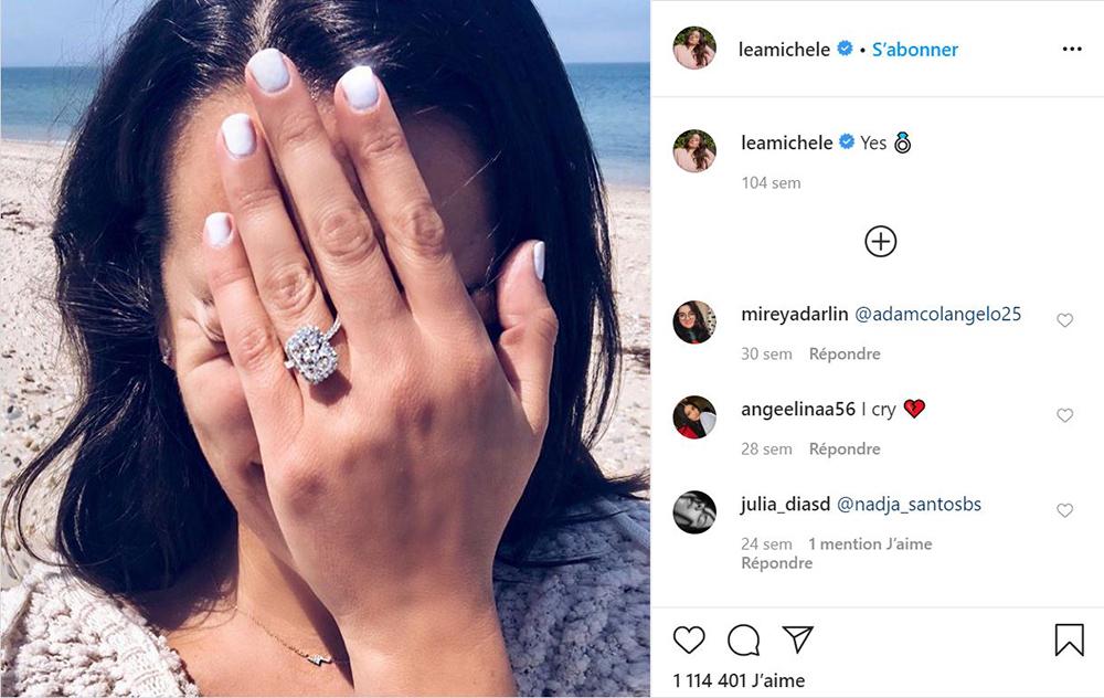 Lea Michele a épousé Zandy Reich en 2019