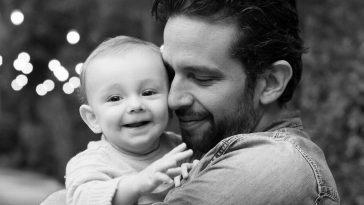 Nick Cordero et son fils Elvis